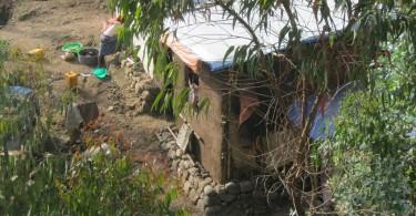 Le case dello slum
